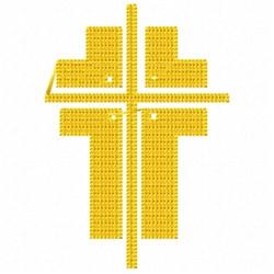 Fat Cross embroidery design