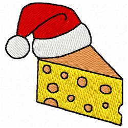 Christmas Cheese embroidery design