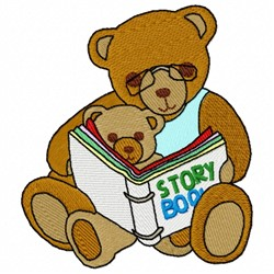 Storytime Bears embroidery design