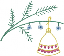 Christmas Tree Decoration embroidery design