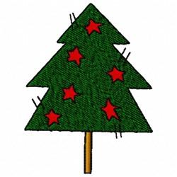 Christmas Stars embroidery design