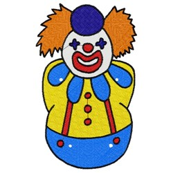 Clown Puppet embroidery design
