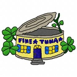 Fine Tuna embroidery design