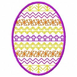 Cross Egg embroidery design
