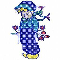 Dutch Boy embroidery design