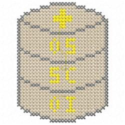 Eucharist embroidery design