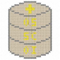 X Stitch Eucharist embroidery design