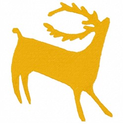 Deer Drawing embroidery design