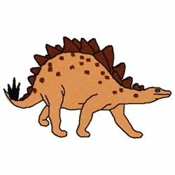 Stegosaurus Dino embroidery design