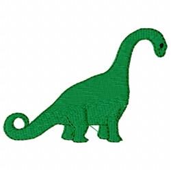 Apatosaurus Dinosaur embroidery design