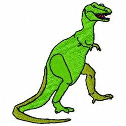 Tyrannosaurus Dinosaur embroidery design