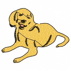 Lap Dog embroidery design