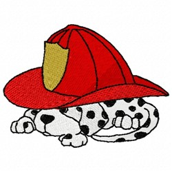 Fire Pup embroidery design