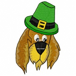 Irish Dog embroidery design