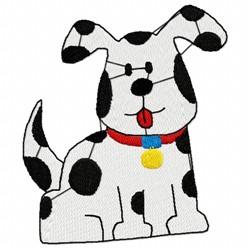 Dalmatian Pup embroidery design