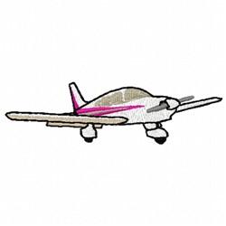 Piper Airplane  embroidery design