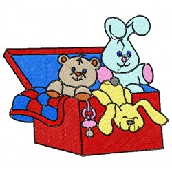 Toy Box embroidery design