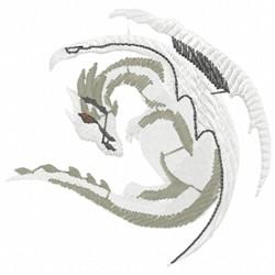 Gothic Dragon embroidery design