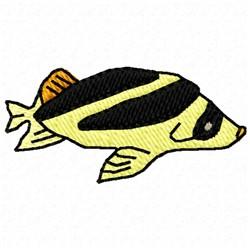 Fat Fish embroidery design