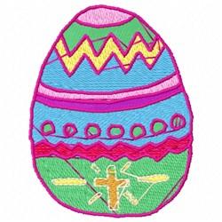 Easter Egg embroidery design