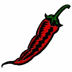 Red Pepper embroidery design
