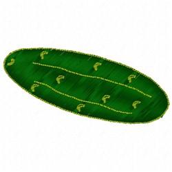 Cucumber embroidery design