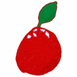 Spencers Apple embroidery design