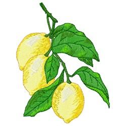 Lemon Branch embroidery design