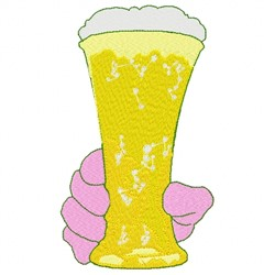Beer Hand embroidery design
