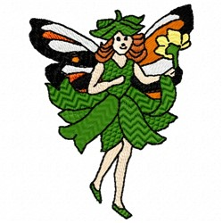 Blossom Fairy embroidery design