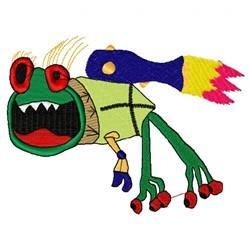 Alien Beast embroidery design