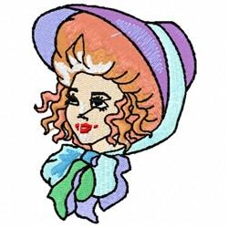Bonnet Head embroidery design