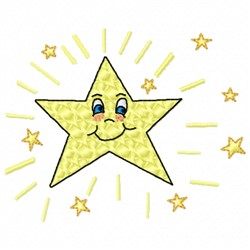 Twinkle, Twinkle Little Star embroidery design