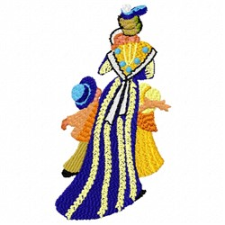 Arlesienne Painting embroidery design