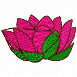 Flower Head embroidery design