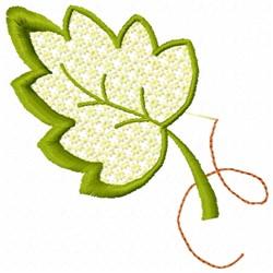 Tree Leaf embroidery design