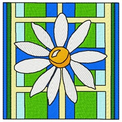 Marguerite Flower embroidery design