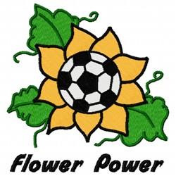 Sunflower Soccer embroidery design