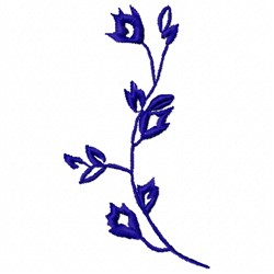 Vine Leaves embroidery design