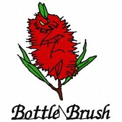 Bottle Brush embroidery design