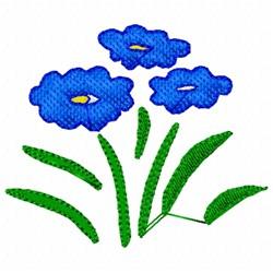Flower Stencil embroidery design