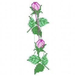 Rose Stitch embroidery design