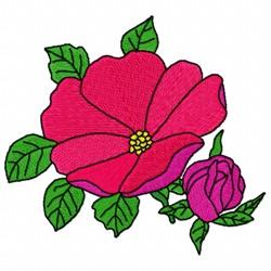 Blossom Flower embroidery design