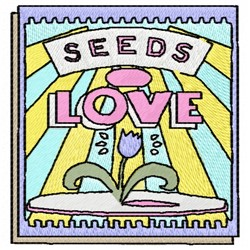 Seeds Of Love embroidery design