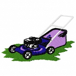 Lawn Mower embroidery design