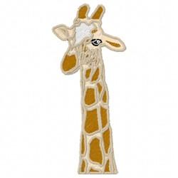 Giraffe embroidery design