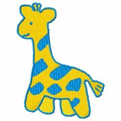 Giraffe Baby embroidery design