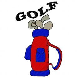 Golf Bag embroidery design