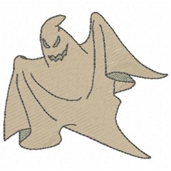 Ghost Sheet embroidery design