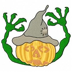 Jock o Lantern embroidery design